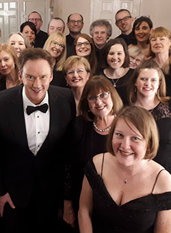 Medina Community Choir with Russell Watson March 2018